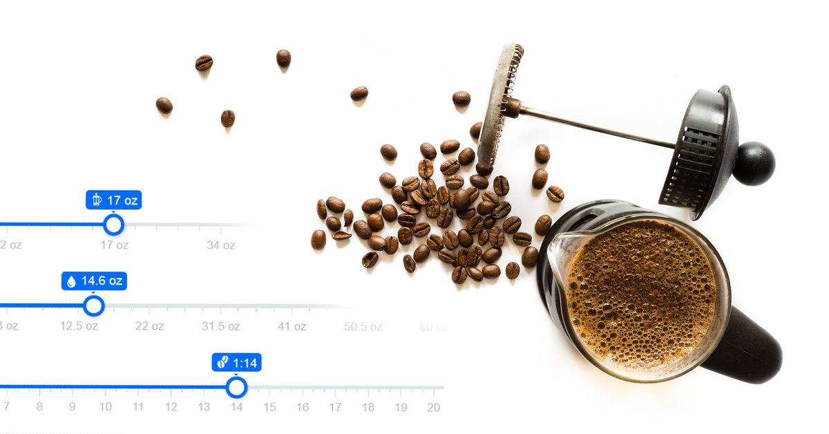 French press calculator